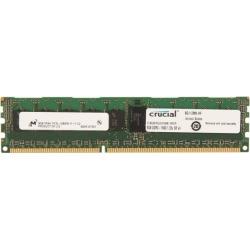 Crucial 8GB 240-Pin DDR3 SDRAM ECC Registered DDR3 1600 (PC3 12800) Server Memory Model CT8G3ERSLS4160B