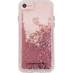 Recertified - Case-Mate Waterfall Case for iPhone 8/7/6s/6 - Rose Gold/Clear
