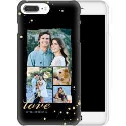 Custom iPhone Cases: Love Bokeh iPhone Case, Slim case, Glossy, iPhone 8 Plus, Black found on Bargain Bro Philippines from shutterfly.com for $44.99
