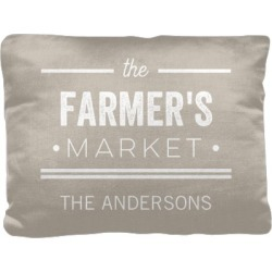 Pillows: Farmhouse Chic Pillow, Cotton Weave, Pillow (Ivory), 12 x 16, Single-sided, Beige found on Bargain Bro from shutterfly.com for USD $30.38