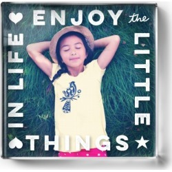 Enjoy Little Things Paper Weight, Square Paper Weight, DynamicColor found on Bargain Bro India from shutterfly.com for $34.99