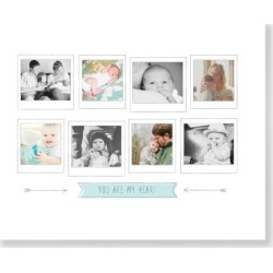 Arrow Gallery Milestones Art Print, White found on Bargain Bro Philippines from shutterfly.com for $114.98