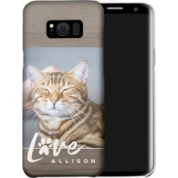 Samsung Galaxy Cases: Rustic Love Paw Samsung Galaxy Case, Slim case, Glossy, Galaxy S8 Plus, Grey, Phone Case found on Bargain Bro India from shutterfly.com for $44.99