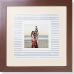 Framed Prints: Gallery Border of One Framed Print, Brown, Contemporary, White, Cream, Single piece, 12x12, Multicolor found on Bargain Bro Philippines from shutterfly.com for $104.98