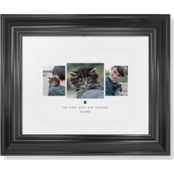Framed Prints: Simply Chic Rescues Framed Print, Black, Classic, Cream, White, Single piece, wallart_8x10, Black found on Bargain Bro India from shutterfly.com for $104.98