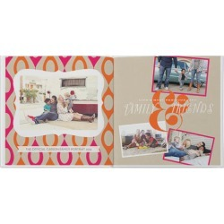 Photo Books: Kraft Pop Photo Book, Premium Leather Cover Book, Deluxe Layflat, 10x10, White found on Bargain Bro from shutterfly.com for USD $141.34