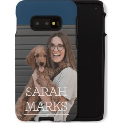 Samsung Galaxy Cases: Simply Personal Samsung Galaxy Case, Silicone liner case, Matte, Galaxy S10E, White, Phone Case found on Bargain Bro India from shutterfly.com for $57.99