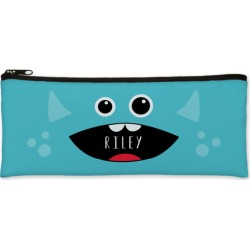 Pencil Cases: Monster Pencil Case, Blue