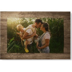 Countryside Wall Art, Single piece, Wood, 24x36, Brown found on Bargain Bro from shutterfly.com for USD $303.98