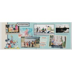 Photo Books: Vintage Disney Photo Book, Premium Leather Cover Book, Deluxe Layflat, 11x14 found on Bargain Bro from shutterfly.com for USD $202.14