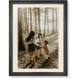 Framed Prints: Photo Gallery Framed Print, Black, Classic, Cream, Cream, Single piece, wallart_24x36, Multicolor, black/cream found on Bargain Bro India from shutterfly.com for $214.98