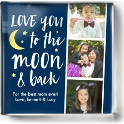 To The Moon Filmstrip Paper Weight, Square Paper Weight, DynamicColor found on Bargain Bro India from shutterfly.com for $34.99