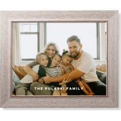 Framed Art Prints: Photo Gallery Art Print, Rustic, Pearl Shimmer Card Stock, 11x14, Multicolor, White found on Bargain Bro India from shutterfly.com for $84.98