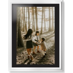 Framed Prints: Photo Gallery Framed Print, White, Classic, Black, Black, Single piece, wallart_24x36, Multicolor, black/white found on Bargain Bro India from shutterfly.com for $214.98