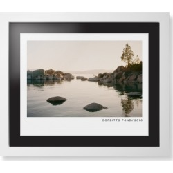 Framed Prints: Modern Gallery Framed Print, White, Contemporary, White, Black, Single piece, 16x20, White found on Bargain Bro Philippines from shutterfly.com for $124.98