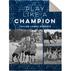Adventure Champion Fleece Photo Blanket, Sherpa, 60 x 80, DynamicColor found on Bargain Bro India from shutterfly.com for $109.98