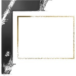Framed Art Prints: Simply Chic Frenchie Art Print, Black, Signature Card Stock, 8x10, goldfoil found on Bargain Bro Philippines from shutterfly.com for $74.98