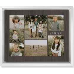 Lucky Seven Wall Art, White, Single piece, Mounted, 8x10, Multicolor found on Bargain Bro Philippines from shutterfly.com for $99.98