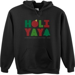 Custom Hoodies: Holiyay Custom Hoodie, ADULT_HOODIE_SINGLE_SIDED, XL, Black, Green found on Bargain Bro Philippines from shutterfly.com for $49.99