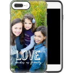 Custom iPhone Cases: Love Makes Family iPhone Case, Silicone liner case, Glossy, iPhone 8 Plus, White found on Bargain Bro Philippines from shutterfly.com for $54.99