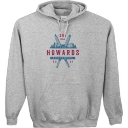 Custom Hoodies: Ski Vacation Custom Hoodie, ADULT_HOODIE_DOUBLE_SIDED, S, Heather Grey, Blue, Adult Unisex found on Bargain Bro from shutterfly.com for USD $41.79