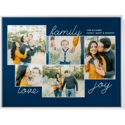 Canvas Prints: New Family Sentiments Canvas Print, CANVAS_FRAME_WHITE, Single piece, wallart_30x40, Blue found on Bargain Bro India from shutterfly.com for $279.98