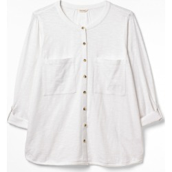 Lou Lou Organic Cotton Jersey Shirt WHITE, 44 found on Bargain Bro from white stuff de for USD $19.12
