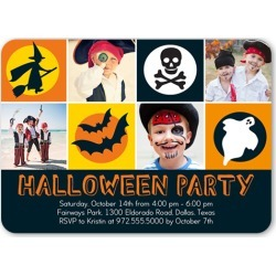 We Won't Bite Halloween Invitation, Rounded Corners, Black found on Bargain Bro India from shutterfly.com for $2.79