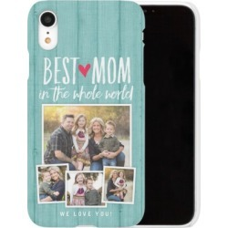 Custom iPhone Cases: Best Mom iPhone Case, Slim case, Glossy, iPhone XR, Blue found on Bargain Bro Philippines from shutterfly.com for $44.99