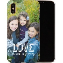 Custom iPhone Cases: Love Makes Family iPhone Case, Slim case, Glossy, iPhone XS, White found on Bargain Bro Philippines from shutterfly.com for $44.99