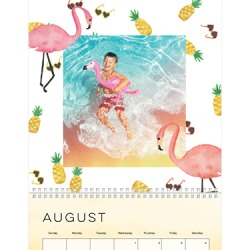 Wall Calendar, 12X12, Whimsical Watercolor found on Bargain Bro India from shutterfly.com for $34.99