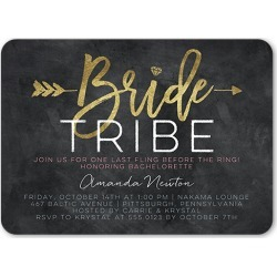 Bachelorette Party Invitations: Bridal Troop Bachelorette Party Invitation, Rounded Corners, 5x7 Flat Card found on Bargain Bro India from shutterfly.com for $2.94