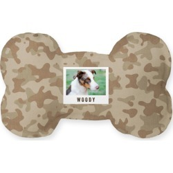 Dog Toys: Rustic Camouflage Dog Toy, Brown