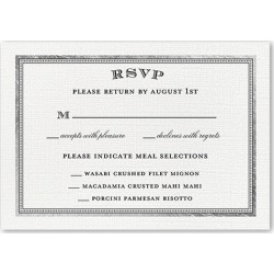RSVP Cards: Radiant Love Wedding Response Card, Square Corners, Gray found on Bargain Bro India from shutterfly.com for $2.19