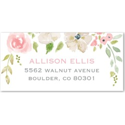 Address Labels: Blossoming Romance, Pink found on Bargain Bro India from shutterfly.com for $9.98
