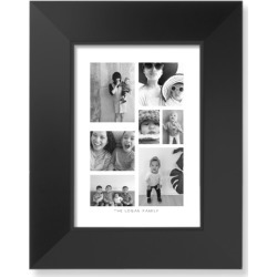 Framed Art Prints: Vertical Gallery Collage of Seven Art Print, Black, Pearl Shimmer Card Stock, 5x7, Multicolor found on Bargain Bro Philippines from shutterfly.com for $49.98