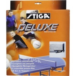 Stiga Deluxe Table Tennis Net & Post Set