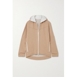 Brunello Cucinelli - Bead-embellished Cotton-blend Jersey Hoodie - Sand found on Bargain Bro Philippines from NET-A-PORTER for $2295.00