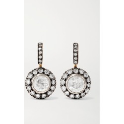 Amrapali - 18-karat Gold And Sterling Silver Diamond Earrings found on Bargain Bro Philippines from NET-A-PORTER for $8360.00