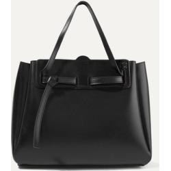 Loewe - Lazo Large Leather Tote - Black found on Bargain Bro UK from NET-A-PORTER UK
