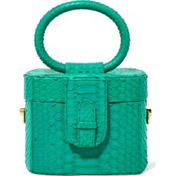 Ximena Kavalekas - Angeles Python Tote - Emerald found on MODAPINS from NET-A-PORTER UK for USD $1378.47