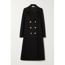 Loewe - Double-breasted Wool And Cashmere-blend Coat - Black found on Bargain Bro UK from NET-A-PORTER UK