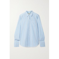 NILI LOTAN - Striped Cotton Shirt - Blue found on Bargain Bro India from NET-A-PORTER for $245.00