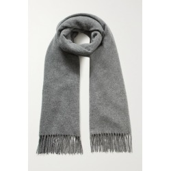 Acne Studios - Fringed Wool Scarf - Gray found on Bargain Bro UK from NET-A-PORTER UK