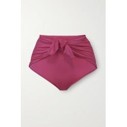 Dodo Bar Or - Ritta Tie-front Bikini Briefs - Fuchsia found on MODAPINS from NET-A-PORTER UK for USD $203.87