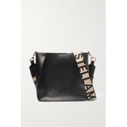 Stella McCartney - Perforated Vegetarian Leather Shoulder Bag - Black found on MODAPINS from NET-A-PORTER UK for USD $757.31