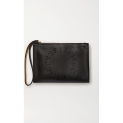 Stella McCartney - Perforated Vegetarian Leather Pouch - Black found on Bargain Bro UK from NET-A-PORTER UK
