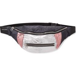 Isabel Marant - Noomi Leather-trimmed Metallic Shell Belt Bag - Black found on Bargain Bro UK from NET-A-PORTER UK