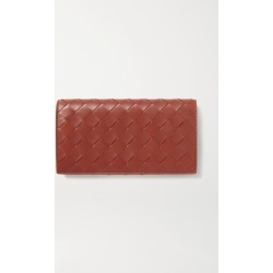 Bottega Veneta - Intrecciato Leather Continental Wallet - Brown found on Bargain Bro UK from NET-A-PORTER UK