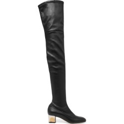 Alexander McQueen - Stretch-leather Over-the-knee Boots - Black found on MODAPINS from NET-A-PORTER UK for USD $1774.21